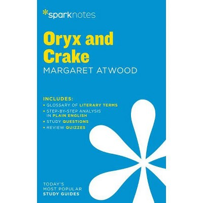 Oryx and Crake Sparknotes Literature Guide - (Paperback)