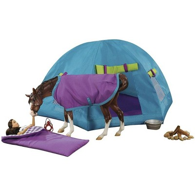 Breyer Animal Creations Breyer 1:9 Traditional Series Model Horse Set: Backcountry Camping