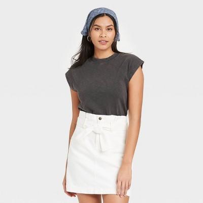 Women's Cap Sleeve Muscle T-Shirt - Universal Thread™