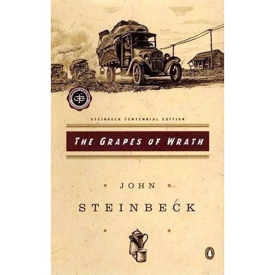 The Grapes of Wrath - (Critical Library, Viking) by  John Steinbeck (Paperback)
