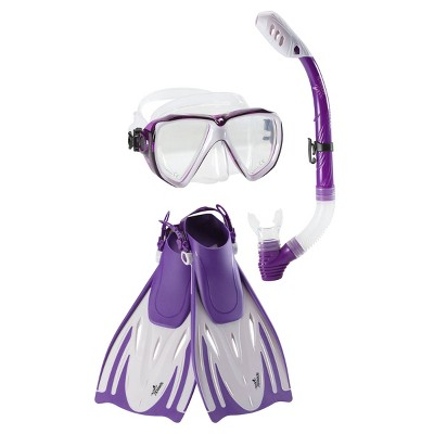 Snorkel Sets Speedo Purple