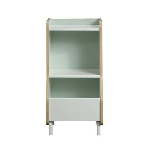 Avery Toy Storage Bookcase White Pillowfort