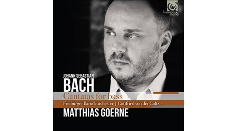 Matthias Goerne - Bach:Cantatas For Bass (CD) - image 1 of 1