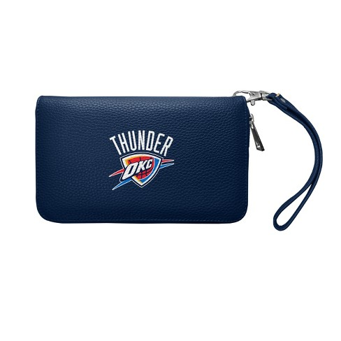 NBA Oklahoma City Thunder Zip Organizer Pebble Wallet - image 1 of 2