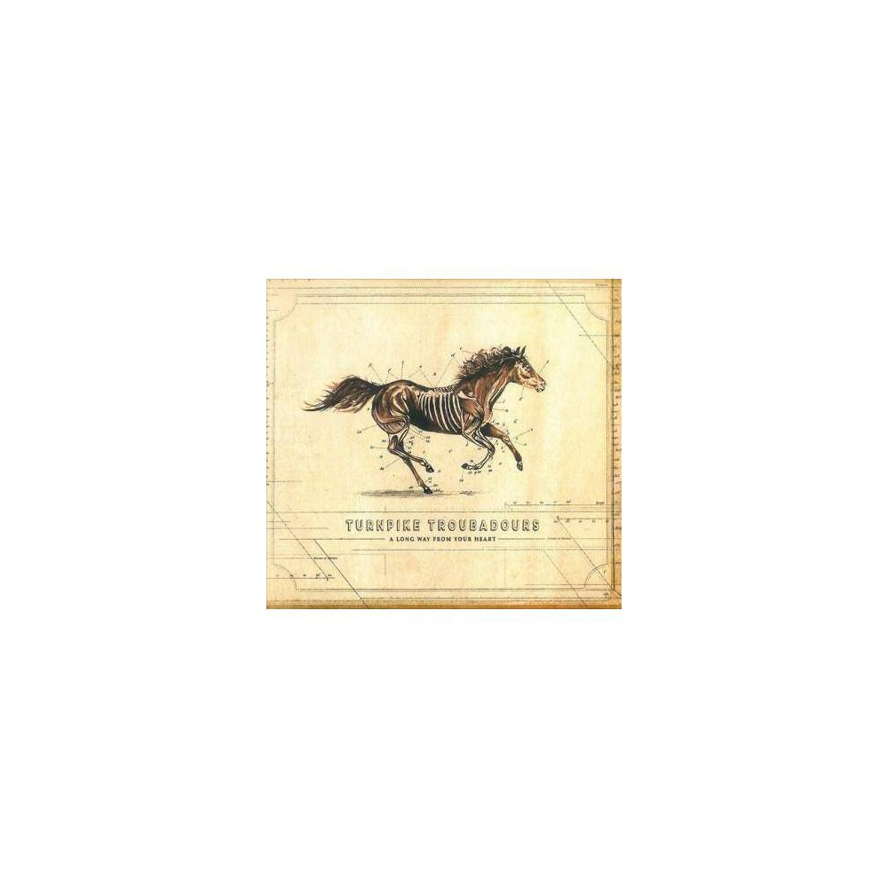 Best Price Turnpike Troubadours A Long Way From Your Heart CD