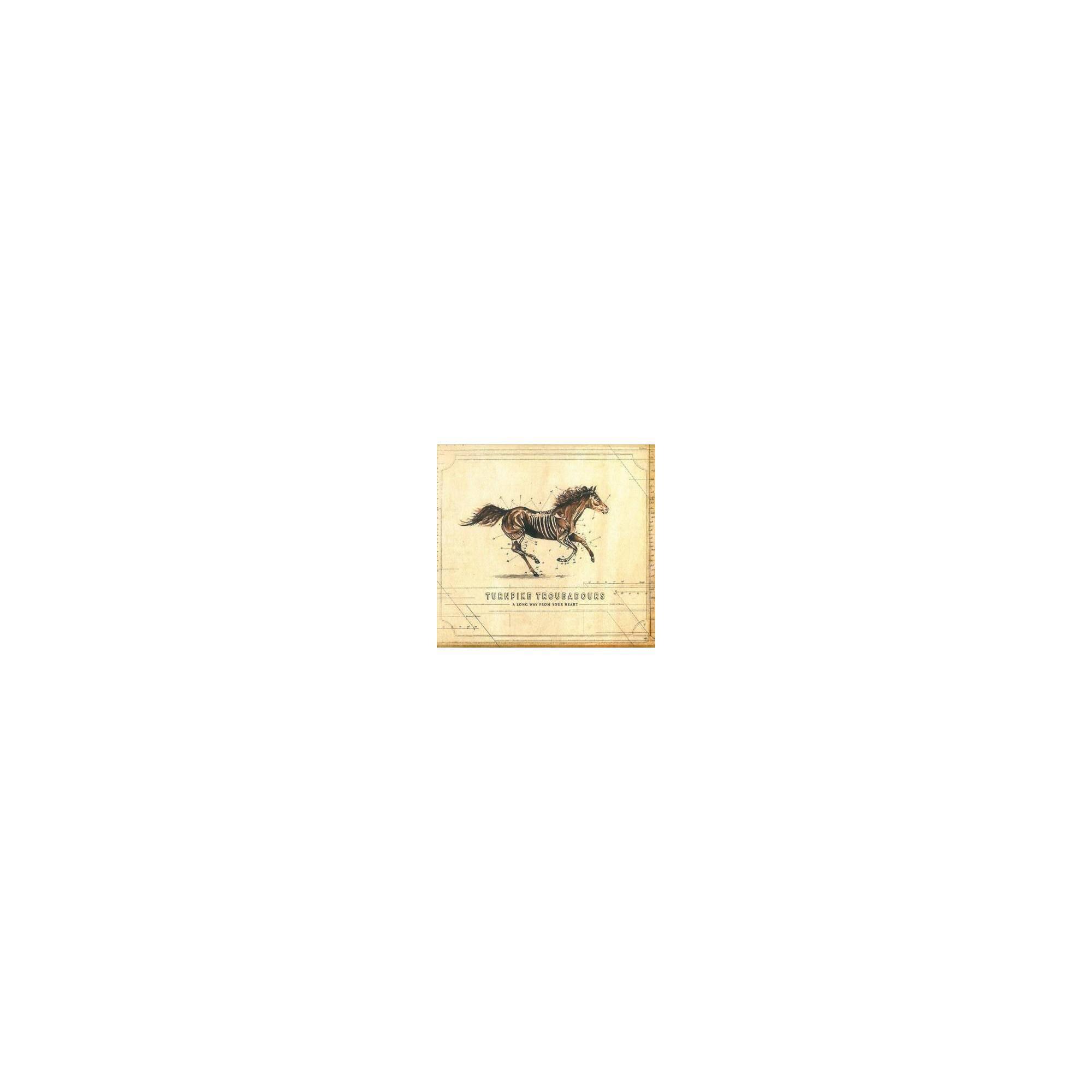 Turnpike Troubadours - A Long Way From Your Heart (CD)