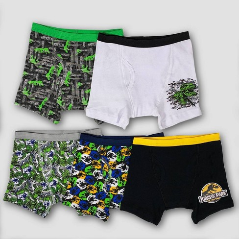 Boys' Jurassic World 5pk Underwear - image 1 of 3