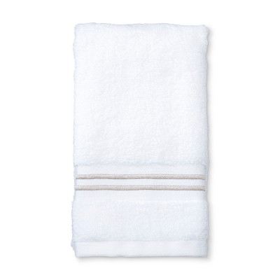 Microcotton Spa Hand Towel Tan Stripe - Fieldcrest®