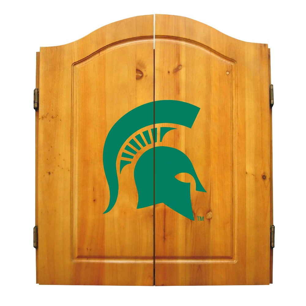 NCAA Michigan State Spartans Imperial International Dartboard Cabinet