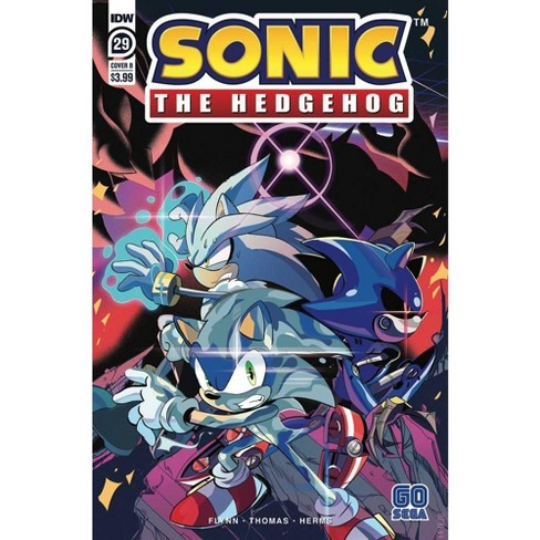 Idw Sonic The Hedgehog 29 Comic Book Priscilla Tramontano Variant Cover B Target