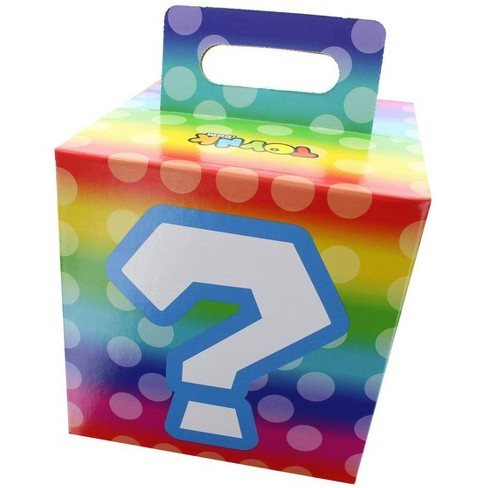 "Wisconsin Packaging Corporation Rainbow Question Mark 7.5"" x 7.5"" x 7.5"" Flat Empty Gift Box - image 1 of 2"