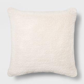 Euro Sherpa Throw Pillow Cream - Opalhouse™