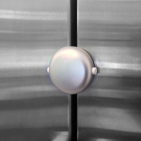 Qdos Adhesive Fridge/Freezer Lock - Chrome - image 1 of 4