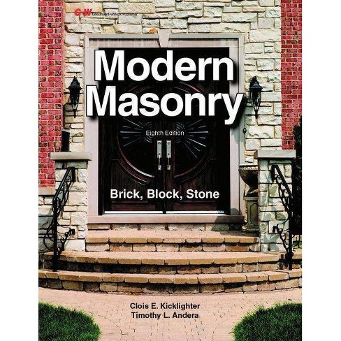 Modern Masonry - 8th Edition by  Clois E Kicklighter (Paperback) - image 1 of 1