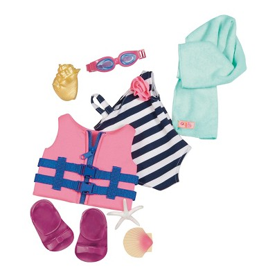 """Our Generation Swimsuit Outfit for 18"""" Dolls - Fun Day Sun Day"""