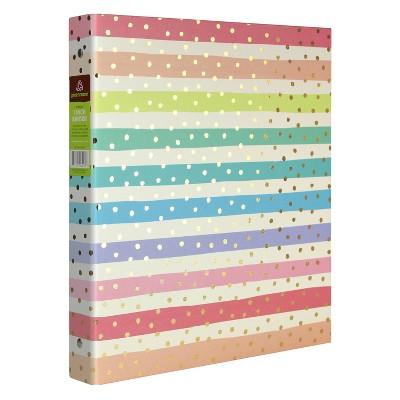 "1"" Ring Binder Rainbows Stripes - greenroom"