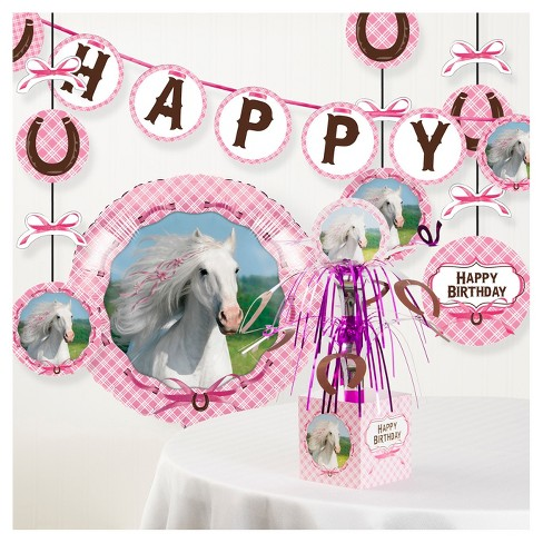 Heart My Horse Birthday Party Decorations Kit Target