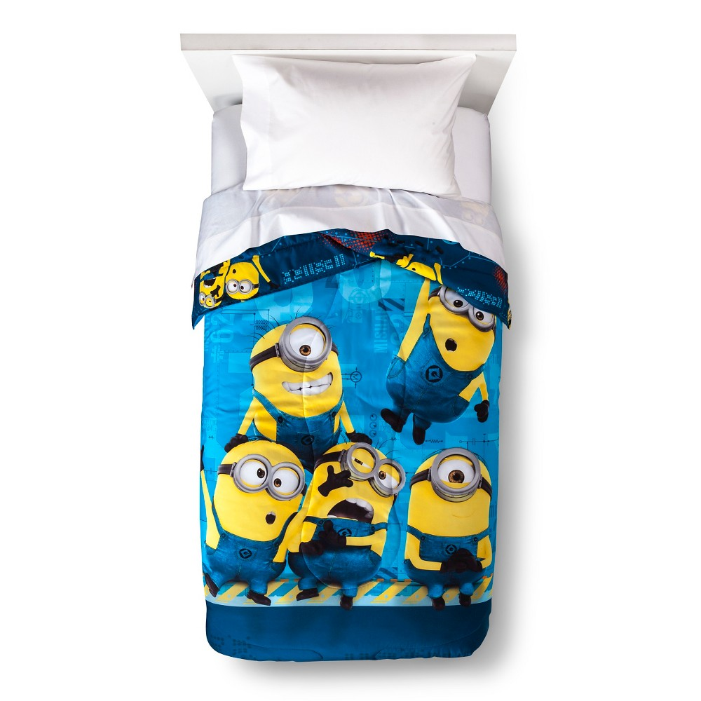 Image of Despicable Me Twin Size Comforter, Multi-Colored