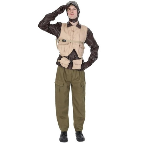 Orion Costumes Male WW2 Fighter Pilot Adult Costume - image 1 of 1