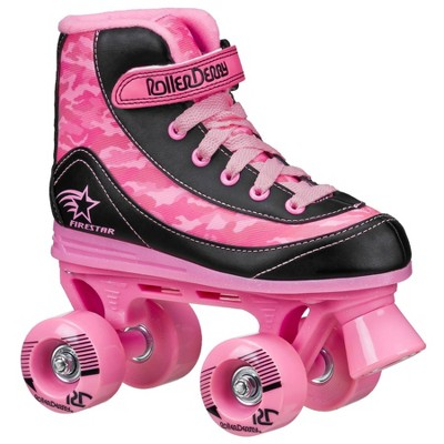 Roller Derby FireStar Youth Girl's Roller Skate - Pink Camo