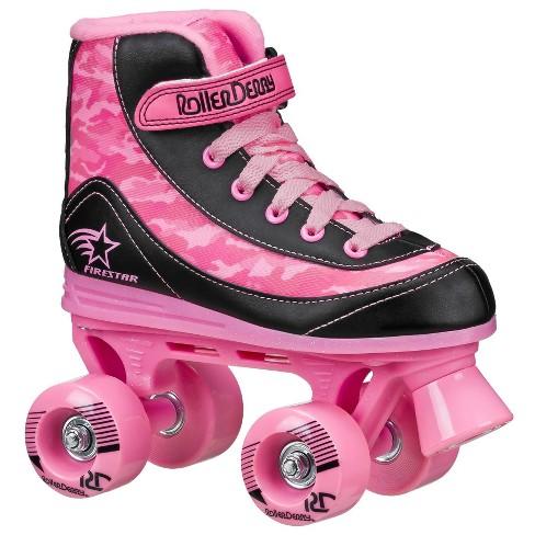 Roller Derby FireStar Youth Girl's Roller Skate - Pink Camo - image 1 of 4
