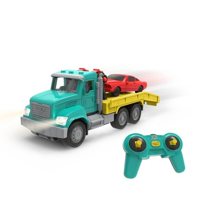 DRIVEN – Toy Tow Truck with Remote Control – Micro Series