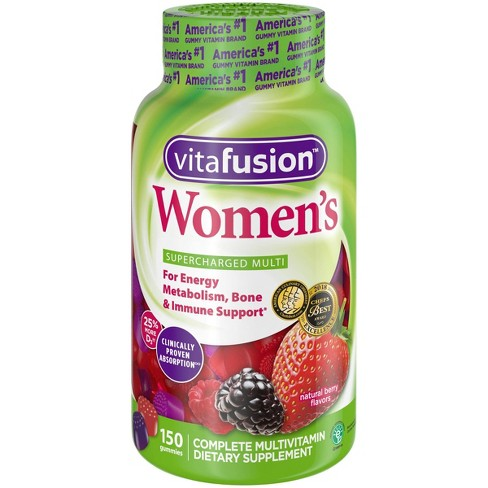 Vitafusion Women's Multivitamin Gummies - Berry - 150ct - image 1 of 4