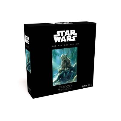 Buffalo Games Star Wars Fine Art Collection: Yoda Jigsaw Puzzle - 1000pc