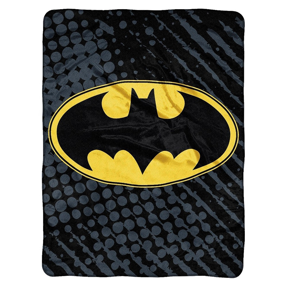 Batman Throw, Multi-Colored