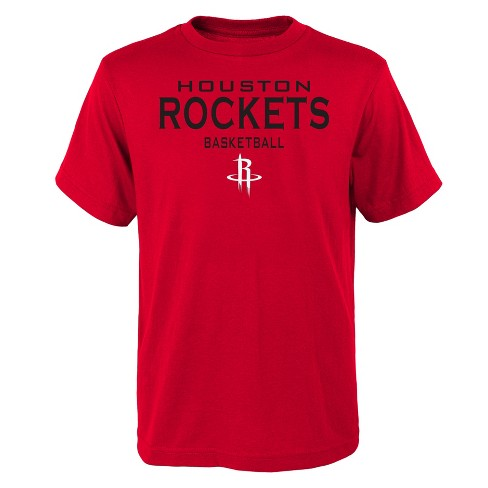 brand new a03f8 a9c5b Houston Rockets Boys' Athleisure T-Shirt - XL