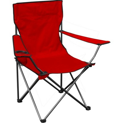 Quik Chair Folding Chair - Red