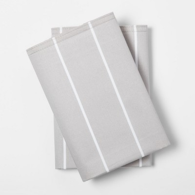 Modern Pillowcases (King)Gray Stripe 300 Thread Count - Project 62™