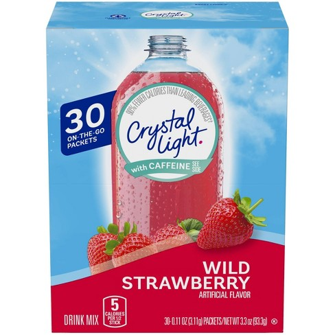 Crystal Light On the Go Wild Strawberry - 30pk/0.11oz Packets - image 1 of 3