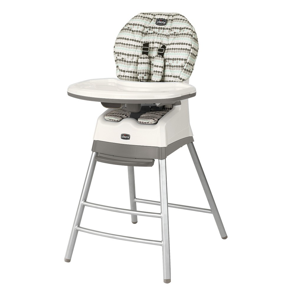 Chicco Stack 3 in 1 High Chair - Birch (Brown)