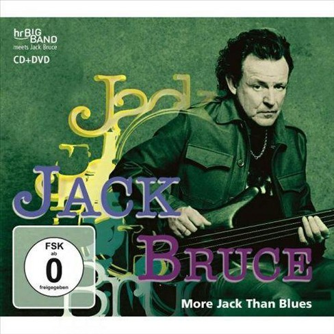 Jack bruce - More jack than blues (CD) - image 1 of 1