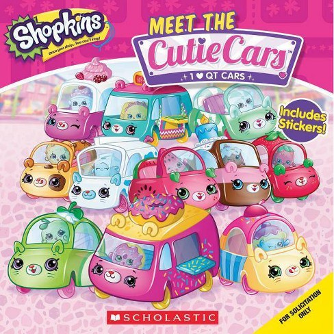 Meet the Cutie Cars - (Shopkins) (Paperback) - image 1 of 1