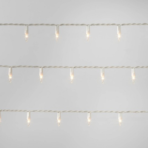 Incandescent Mini String Lights, 25 ct, Clear White Wire - Wondershop™ - image 1 of 3