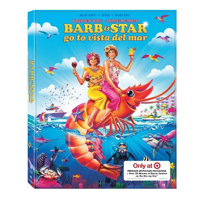 Barb and Star Go to Vista Del Mar (Target Exclusive) (DVD + Blu-ray + Digital)