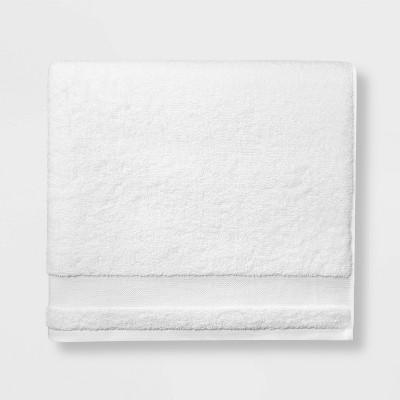 2pk Bath Towel Set True White - Made By Design™