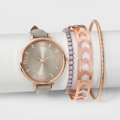 Women S Watch Bracelet Set