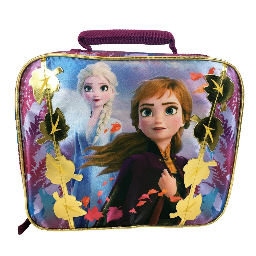 Image of Disney Frozen 2 Rectangular Hard Sided Lunch Box - Berry Pure