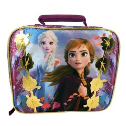 Disney Frozen 2 Rectangular Hard Sided Lunch Box - Berry Pure