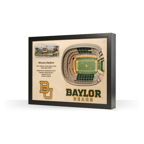 NCAA Baylor Bears 25 Layer Stadiumviews 3D Wall Art - image 1 of 4