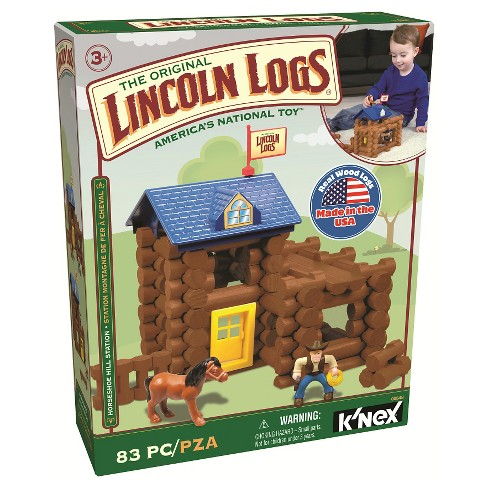 Lincoln Logs Horseshoe Hill Station Building Set - image 1 of 2