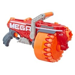 NERF N-Strike Mega Megalodon Blaster with 20 Official Nerf Mega Whistler Darts