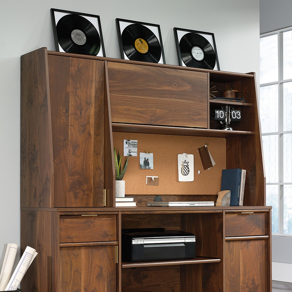 Image of Clifford Place Hutch Grand Walnut - Sauder