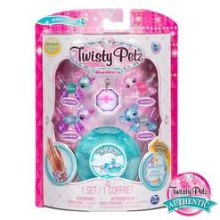 Twisty Petz Series 2 Babies 4pk Unicorns and Koalas Collectible Bracelet and Case (Blue)