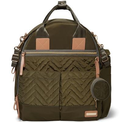 Skip Hop Suite Diaper Backpack Set 6pc - Olive