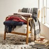 Faux Mohair Grid Throw Blanket - Threshold™ - image 4 of 4