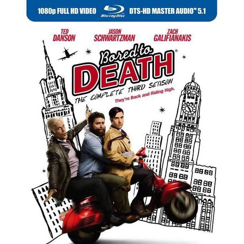 Bored to Death: The Complete Third Season (Blu-ray) - image 1 of 1